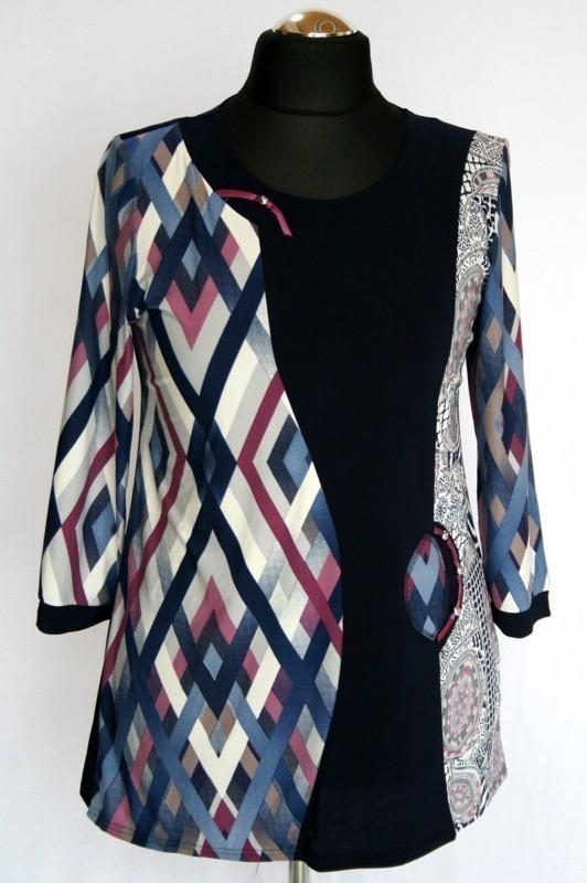 6f611fd465 Alkalmi tunika - Alkalmi felsőrészek :: Ruhakirály női molett ruha ...