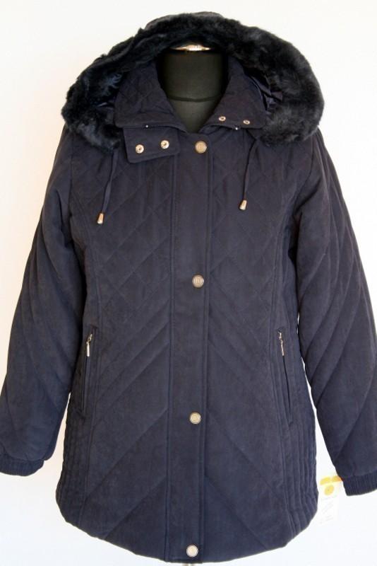 Bőrhatású női télikabát - Télikabátok    Ruhakirály női molett ruha ... a376b657ae