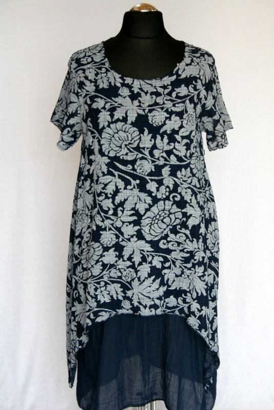 4b2e3a7e98 Dupla géz ruha - Len- Vászon- Géz hosszú ruhák :: Ruhakirály női ...