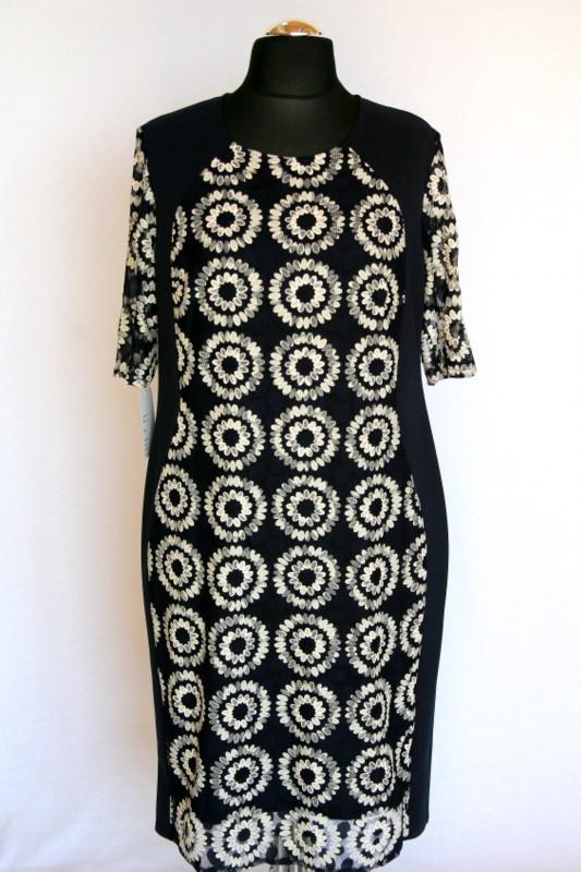 6cc11b0d5c Eszter ruha - Alkalmi ruhák :: Ruhakirály női molett ruha Webshop