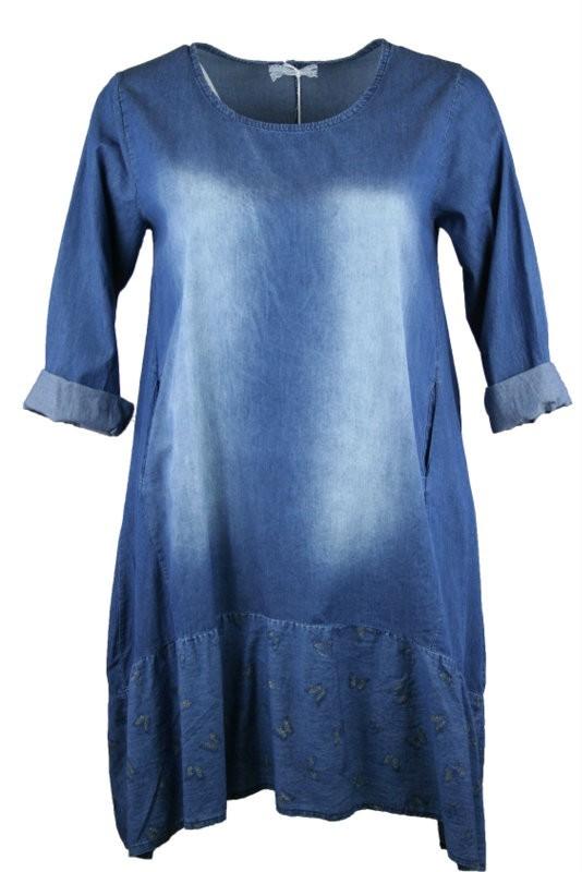 3095121861 Vera farmer ruha - Ruhák :: Ruhakirály női molett ruha Webshop