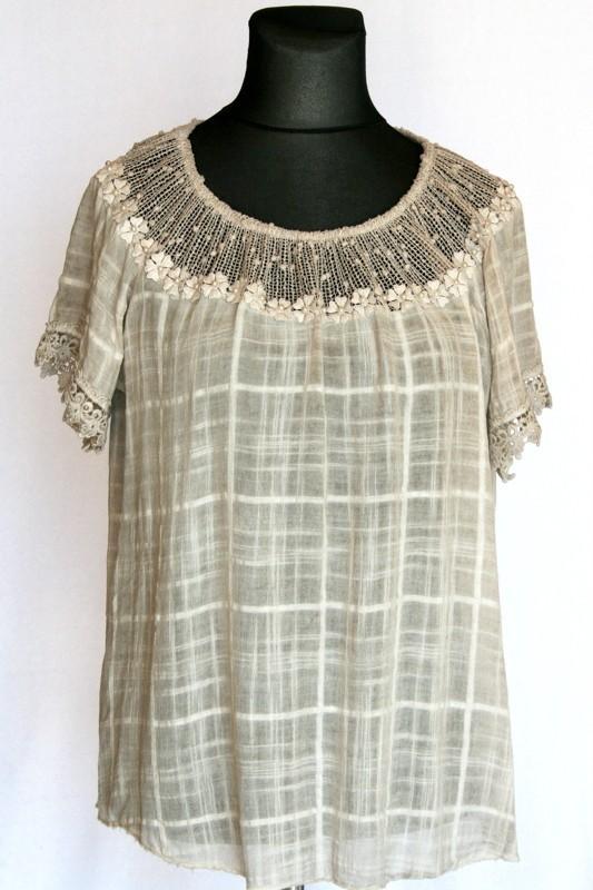0b9622968b Géz tunika - Molett felsőrészek :: Ruhakirály női molett ruha Webshop