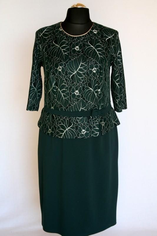 6699ecf39f Hanna ruha - Alkalmi ruhák :: Ruhakirály női molett ruha Webshop