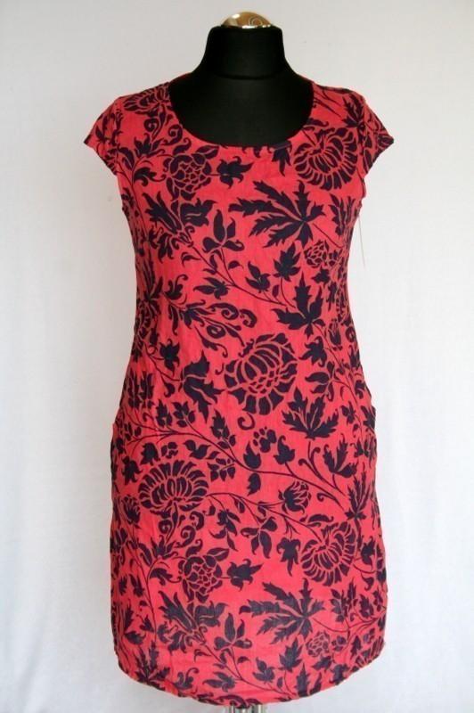 ff912b8750 Karcsúsított ruha - Len- Vászon- Géz rövid ruhák :: Ruhakirály női ...