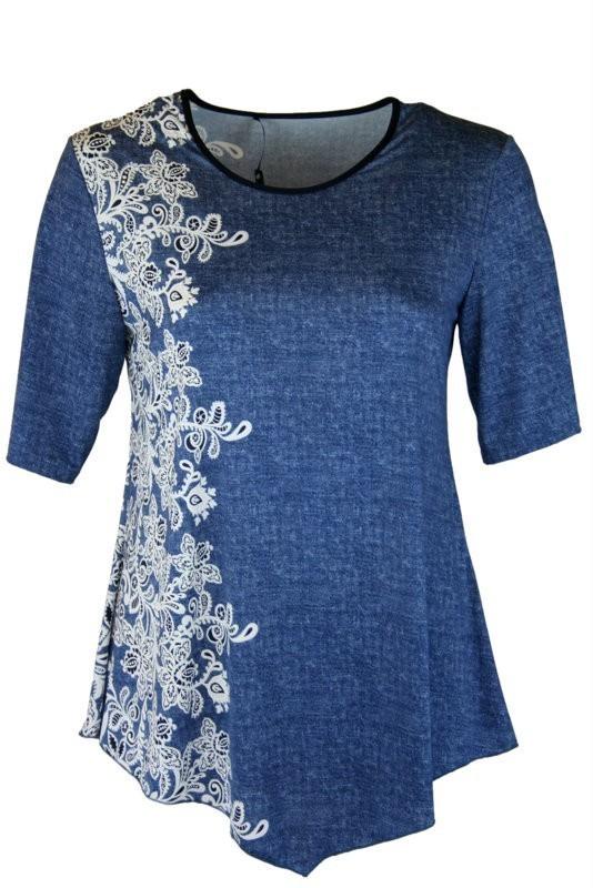 42f2509729 Tereza felsőrész - Molett felsőrészek :: Ruhakirály női molett ruha ...