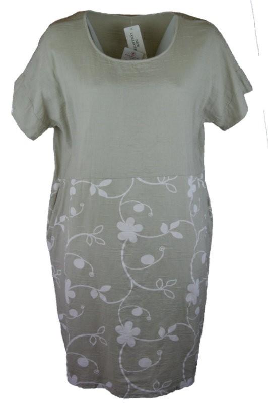 Len vászon és géz ruhák nyári rövid ruhák. :: Ruhakirály