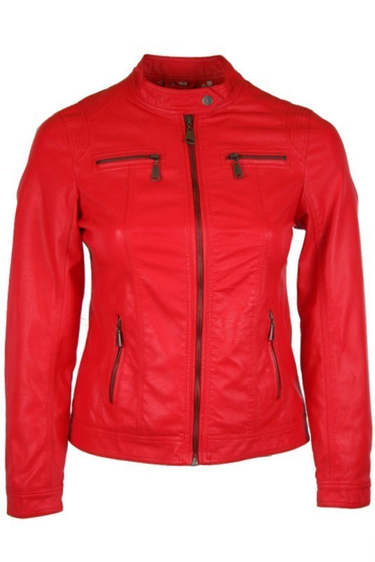 e731aff26b22 Fiatalos bőrdzseki - Műbőr dzsekik :: Ruhakirály női molett ruha Webshop